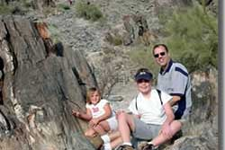 phoenix family hikes with dogs